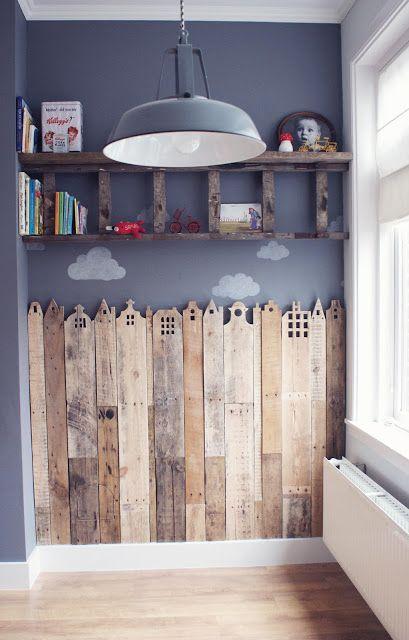 15 id es pour vous inspirer utiliser des chelles en bois comme d coration joli joli design. Black Bedroom Furniture Sets. Home Design Ideas