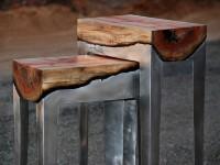 Wood Casting – Un mariage parfait entre l'aluminium et une pièce de bois