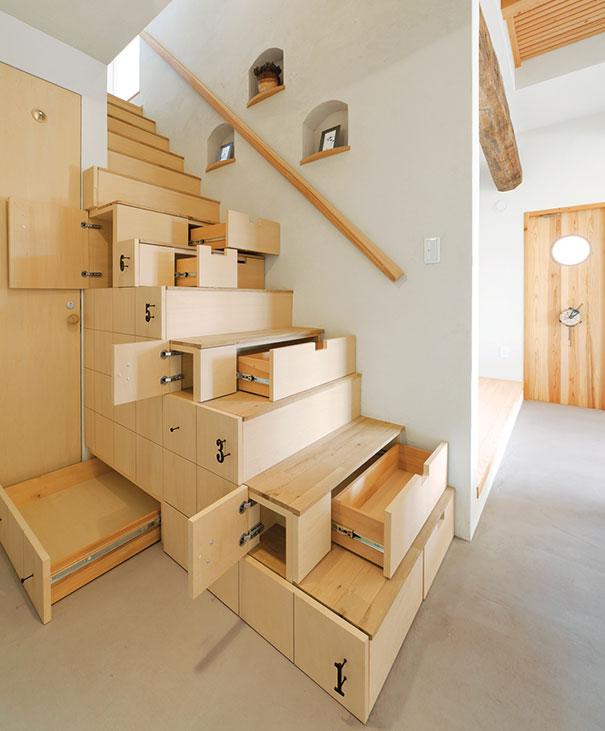 Plusieurs façons originales et pratiques de concevoir un escalier dintérieur
