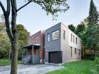 La Dulwich Residence située à Saint-Lambert est un projet inspirant – Apporter un ajout contemporain à une maison construite en 1920