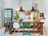 Salle à Manger – L'art de combiner sa table avec plusieurs chaises différentes pour donner à sa cuisine une touche chaleureuse et design
