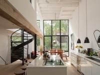 Une ancienne fonderie située sur le Plateau-Mont-Royal transformée en une splendide maison