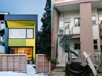 La Résidence 8ième avenue située à Montréal – Transformer un duplex des années 30 en maison unifamiliale sur deux étages
