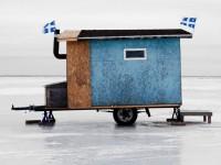 20 photos de jolies jolies cabanes à pêche du Québec et d'ailleurs