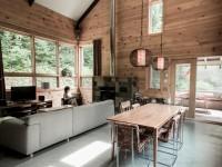 La Maison Nordique-Boréale située à Sainte-Adèle – Une demeure contemporaine tout en étant bien ancrée dans la culture québécoise