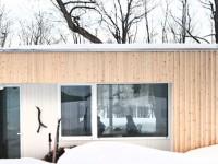 La Maison Blue Hills à Morin Heights – Construire une maison discrète dans la forêt