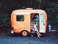 15 photos de roulottes pour te donner le goût de partir sur les routes en voyage