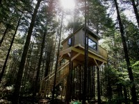 Dormir dans une cabane dans la forêt – Kabania offre un camping réinventé écotouristique au Québec
