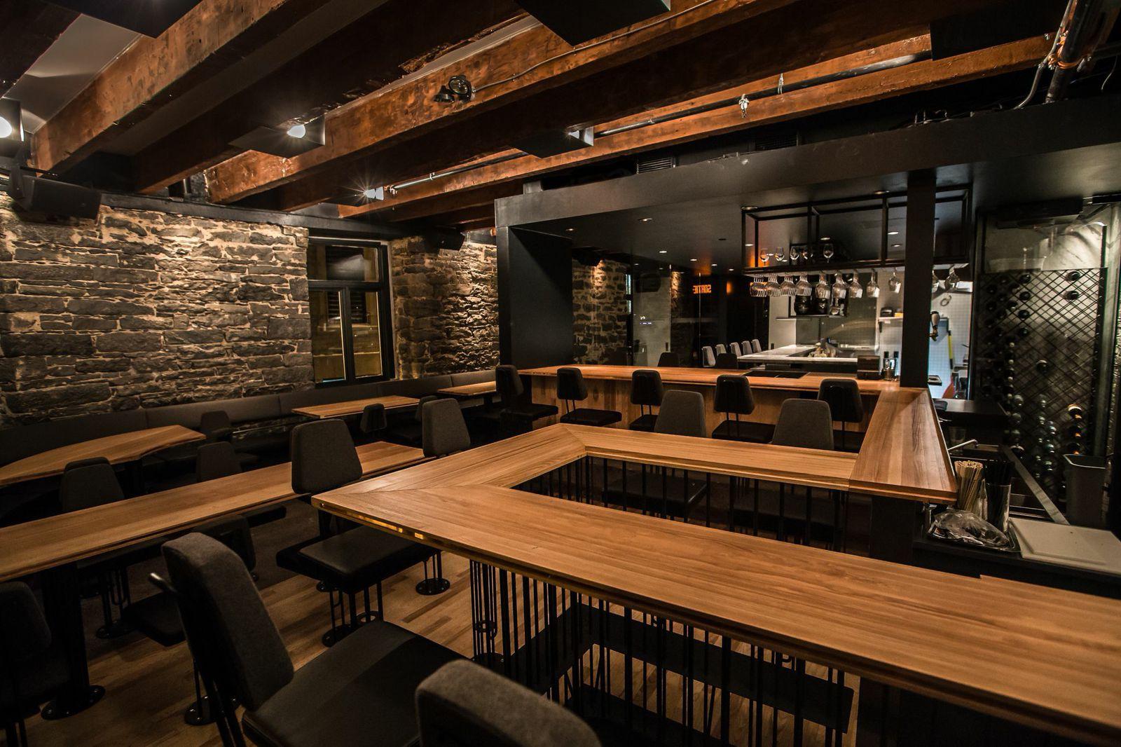 Le restaurant mimi la nuit dans vieux montréal est