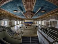 Des superbes photos de l'intérieur du Théâtre Snowdon abandonné