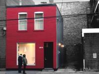 Le Tire Shop ou comment transformer un garage à pneus de Verdun construit en 1920 en une micromaison / galerie d'art