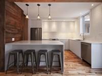 Le projet Aux Jours : La transformation d'un duplex victorien en une jolie maison unifamiliale