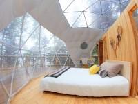 Dormir dans un splendide dôme et admirer le Fjord du Saguenay