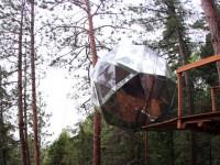 Vous pouvez dormir dans une sphère aux aspects futuristes au Saguenay