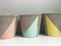 Un succès pour les jolis objets en ciment de l'entreprise québécoise La Cimenterie