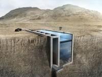La  Casa Brutale – Une luxueuse maison construite dans une falaise