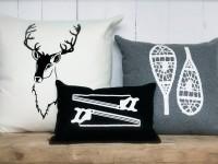 L'entreprise québécoise Jackalop Co. offre des coussins avec des illustrations charmantes et attachantes
