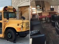 Il transforme un autobus scolaire en mini-maison et veut le vendre pour 30 000$