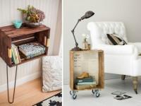 Des façons inspirantes d'utiliser ses caisses en bois pour décorer sa maison