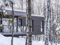 La maison Le Refuge des Hauteurs au coeur de la forêt de Mont-Tremblant dans les Laurentides – L'illusion d'être dans une cabane dans un arbre