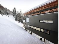 Voici le splendide Chalet de ski laurentien situé à Saint-Donat
