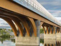 Un pont de bois (!) de 160 m à Mistissini
