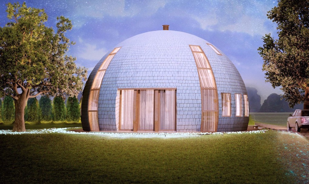 L tonnant igloo russe en bois joli joli design for Architecture design maison