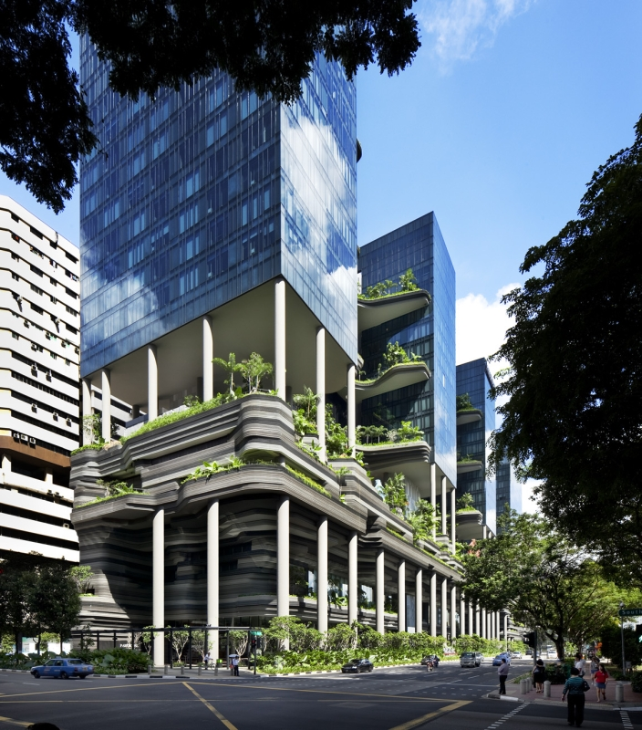 hotel-design-architecture- park-royal-singapor