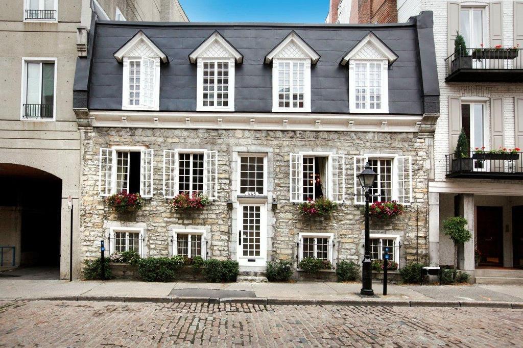 Rare bijou patrimonial la maison dumas datant de 1740 est vendre joli joli design - La maison du hamac quebec ...