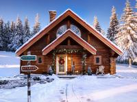 Découvrez le havre de paix de Père Noël et Mère Noël au Pôle Nord!
