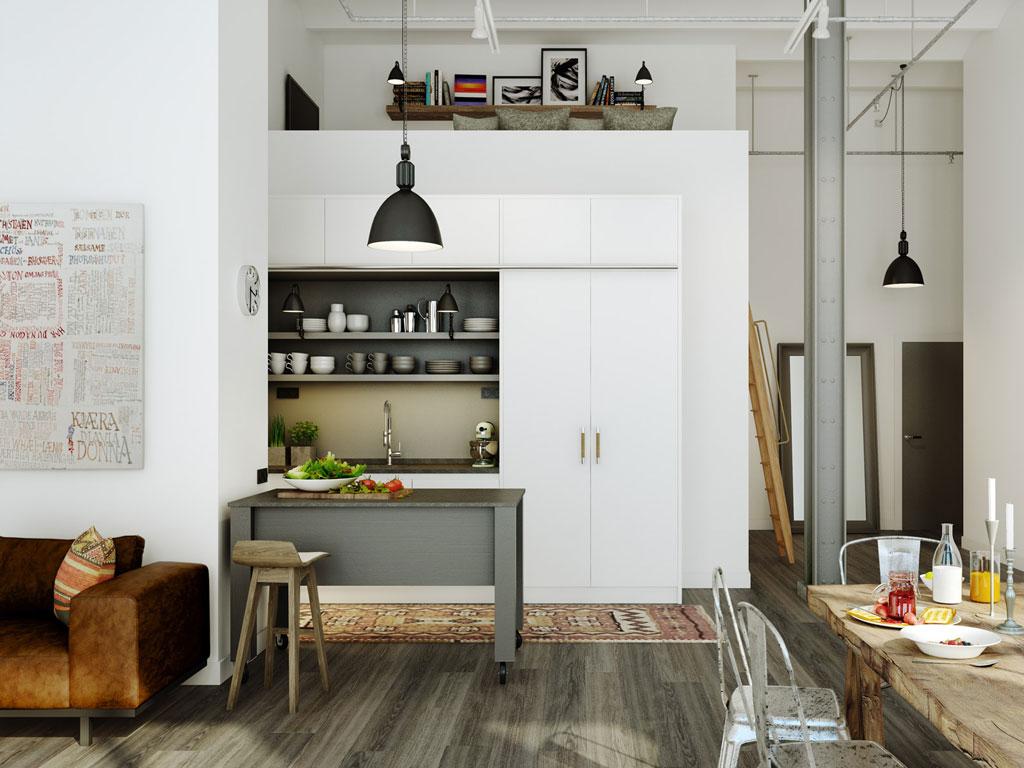 une ancienne usine de cuir stockholm transform e en immeuble d appartements tendances couper. Black Bedroom Furniture Sets. Home Design Ideas