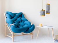 Décorez votre demeure avec des meubles et accessoires entièrement tricotés!