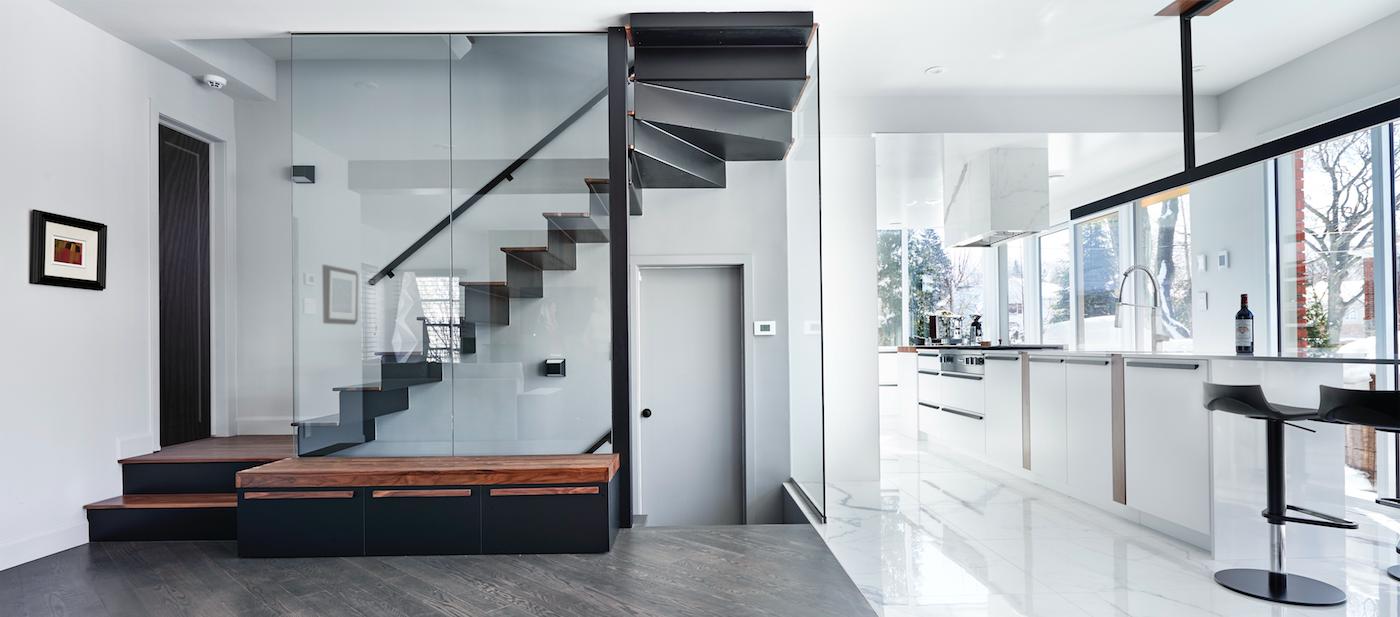 Résidence Rockland : une rénovation complète pour une grande ... - Maison Rénovée Avant Après