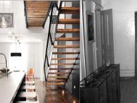 La résidence De Bullion sur le Plateau Mont-Royal – Une transformation d'un duplex en maison unifamiliale (avant-après)