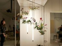 FLOW : un jardin intérieur flottant en forme de lustre à avoir chez soi!