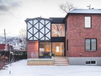 La Cardinale : une maison complètement transformée à Ville Saint-Laurent