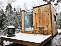 7 mignons mini-chalets à louer un peu partout au Québec