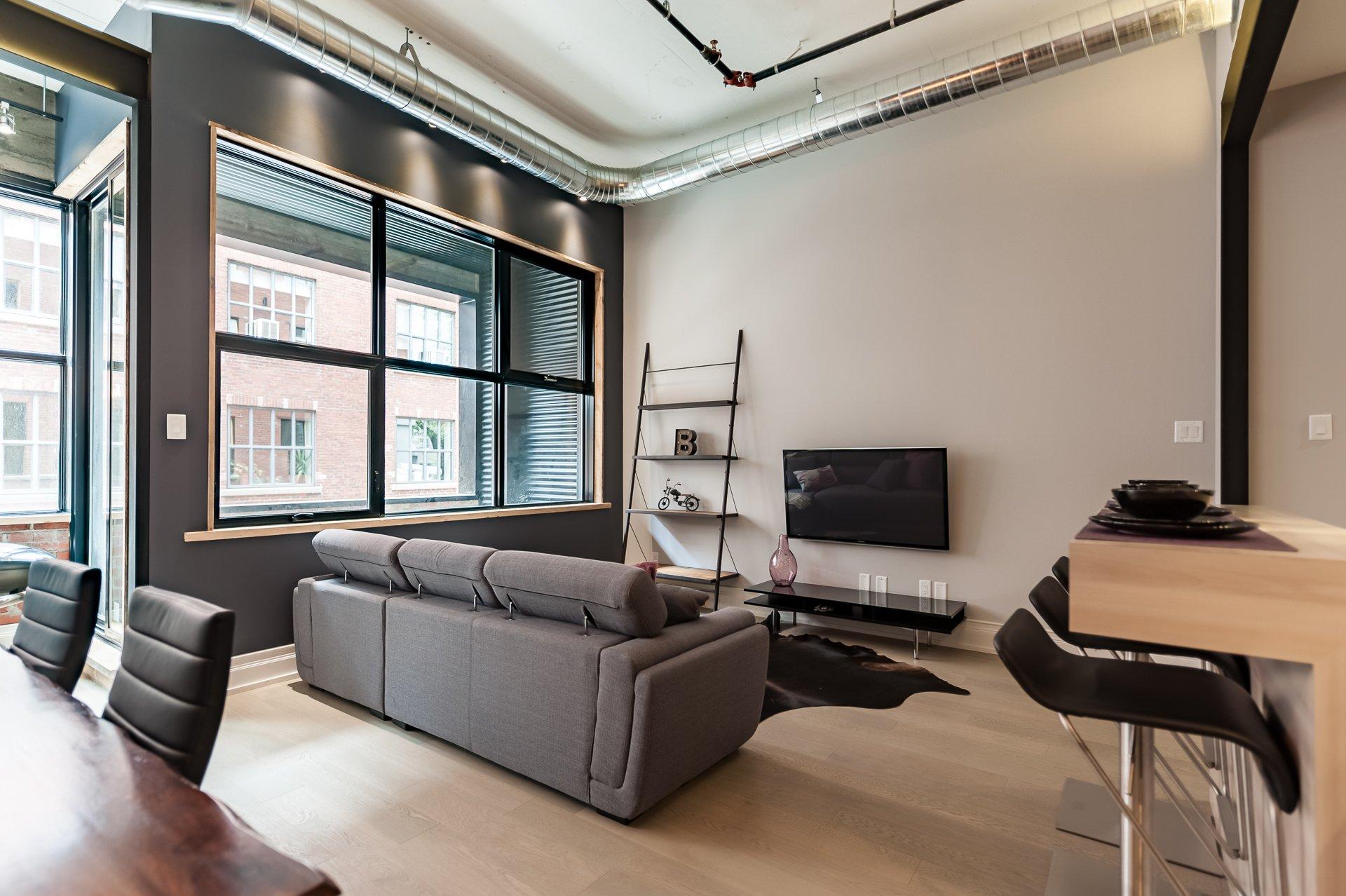 Appartement Industriel un appartement jumelé au style industriel et urbain disponible sur