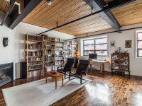 Superbe loft construit dans un ancien bâtiment industriel de Montréal