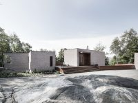 La résidence Les Elfes – un projet qui s'accommode à son terrain situé à Morin Heights