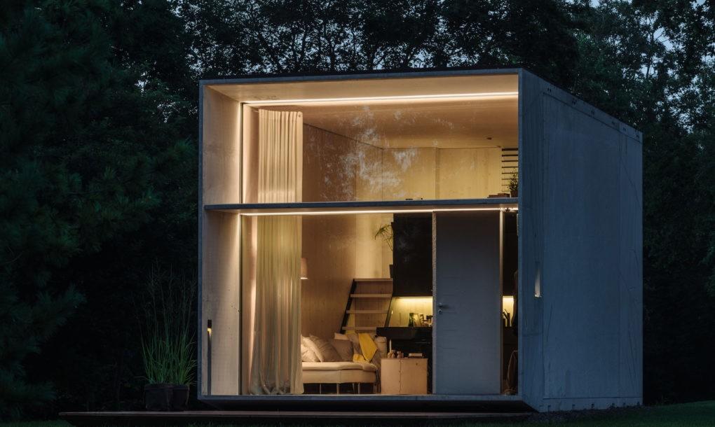 Koda Une Mini Maison Qui Fonctionne Uniquement A L Energie Solaire