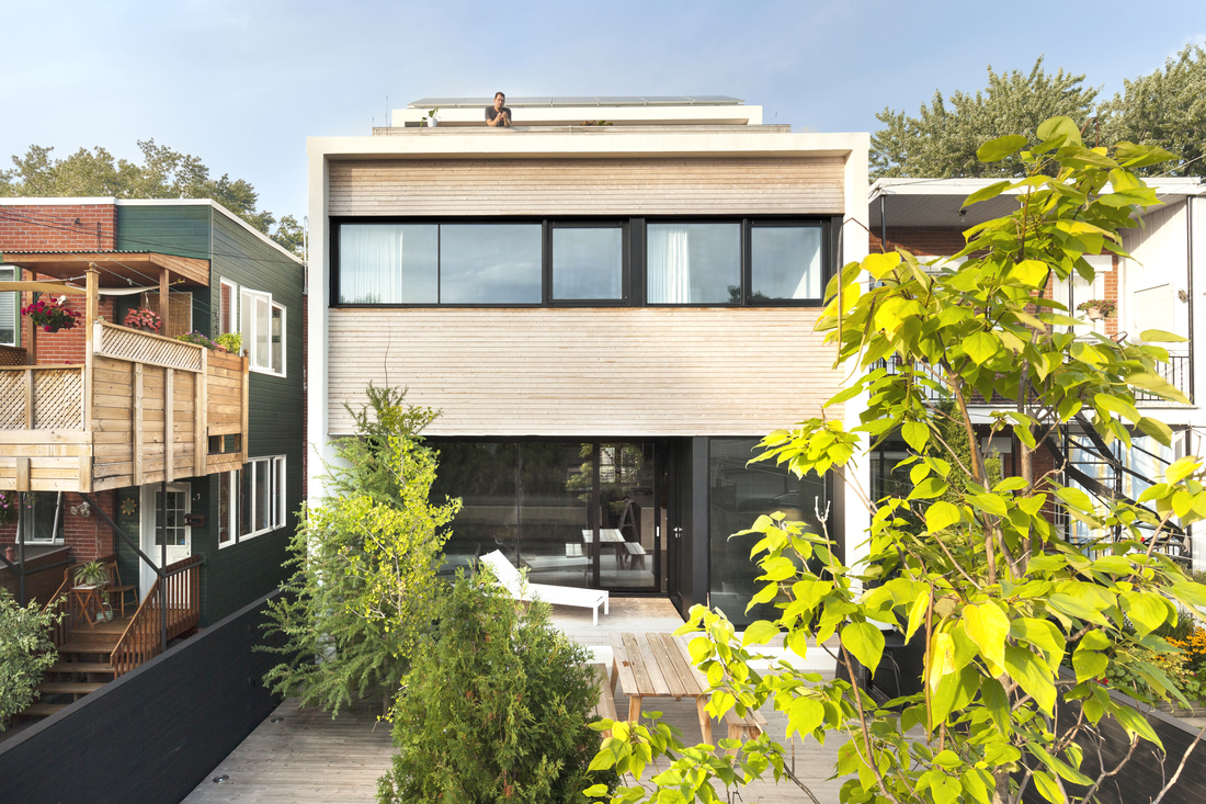 La maison lh4 de grands espaces au design moderne par la - La demeure moderne gb house par mmeb architects ...