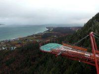 Une nouvelle plateforme vitrée suspendue à visiter cet été en Gaspésie