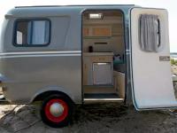 Une jolie roulotte vintage à louer sur Airbnb cet été au Québec