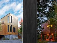 La Plaisance – Une habitation complètement en bois dans l'immense forêt charlevoisienne
