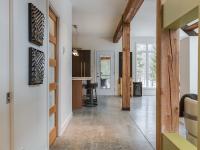 Cette magnifique maison complètement éco-énergétique est en vente à Eastman