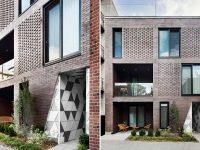 De magnifiques résidences inspirées de la géode sur le Plateau Mont-Royal