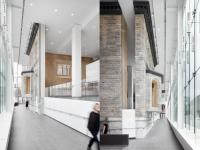 Le design intérieur du nouveau CHUM se distingue à l'international