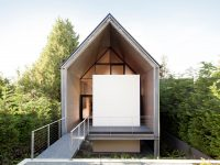 Une jolie maison minimaliste qui laisse tout le monde bouche-bée dès qu'on y entre