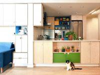 Un joli appartement de 600 pieds carrés qui maximise son espace à 100%